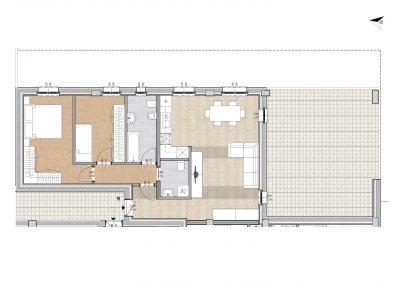 Planimetria Appartamento 9 - Trilocale